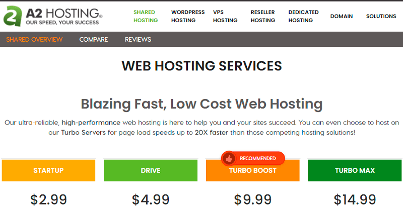 best shared hosting for small business