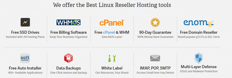 top services cpanel reseller inmotion hosting
