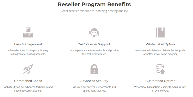 top features siteground reseller hosting services