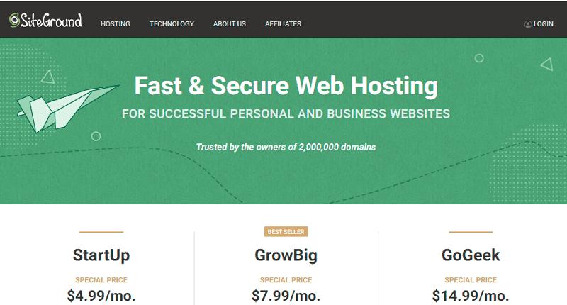 unlimited shared hosting plans